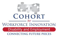 Cohort for Workforce Innovation Connecting Future Pieces: Disability and Unemployment Puzzle Icon