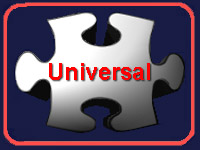 Universal White Puzzle Piece